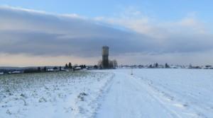 Betonstroß und Wasserturm