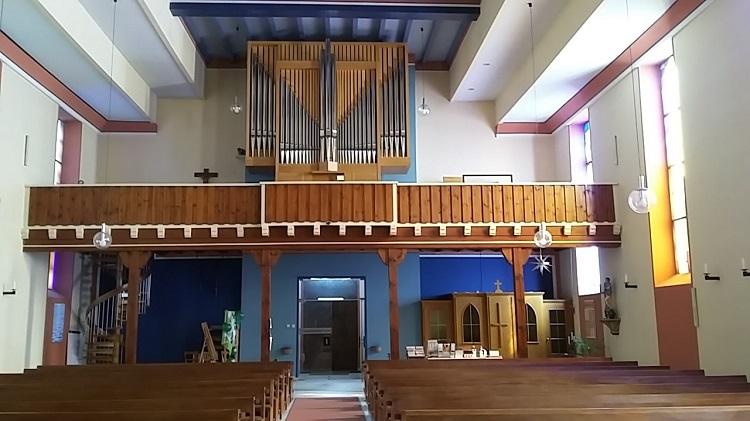 Die Orgel von St. Bartholomäus in Kaiserslautern-Morlautern